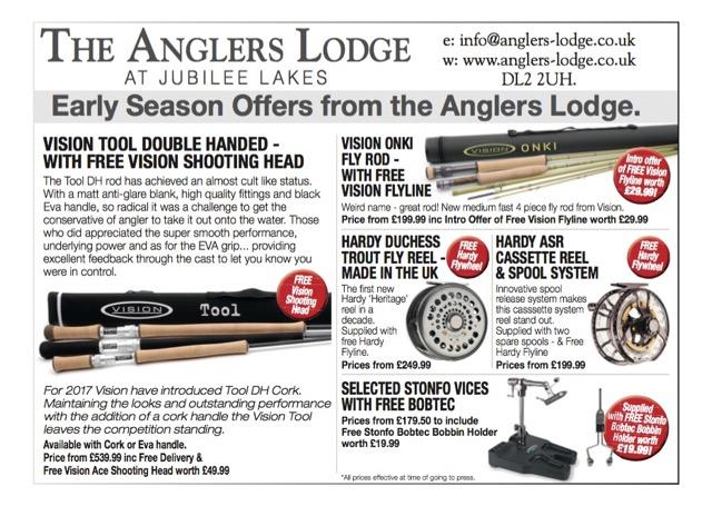 Anglers Lodge Ad