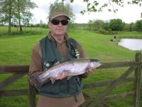 James Jennings from Newcastle. 4lb 4oz caught on a Dawsons Olive