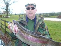 Mick Tedesco, Newcastle. 9lb 7oz caught on the White Bunnyleech