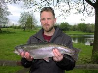 Stuart Sexton from Darlington. 5lb 6oz caught on a black zonker