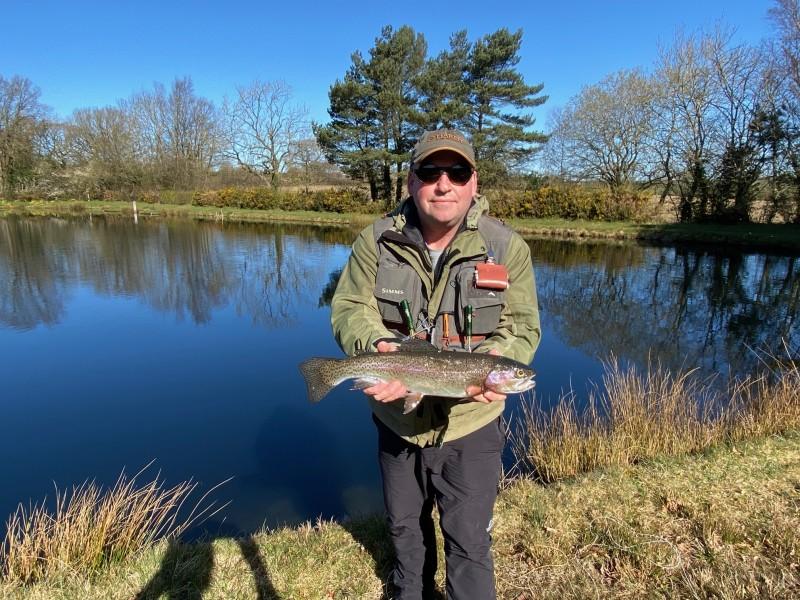 Alan & trout