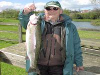Dick Robinson from Great Ayton - 5lb & 4lb 12oz. Both caught on Lumi Blob.
