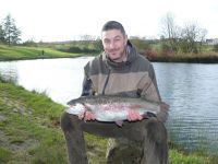 Waine Ferguson from Bishop Auckland. 9lb 1oz on a two tone blob.