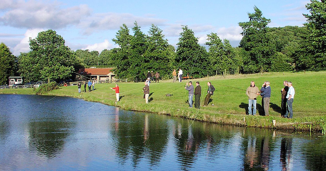 Fly Fishing For Rainbow Trout At Jubilee Lakes In County Durham Jubilee Lakes